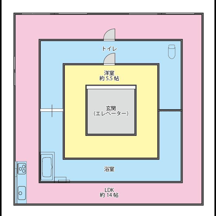 y澤不動産 間取り 02